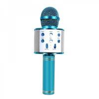 Микрофон для караоке WS 858 (Blue)