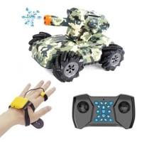 Танк стреляющий Mech Chariot 360° с управлением жестами (Camouflage)
