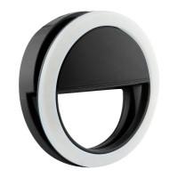 Кольцо для селфи с подсветкой selfie light (Black)