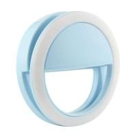 Кольцо для селфи с подсветкой selfie light (Blue)