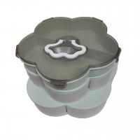 Органайзер для сладостей Flower Shap 12 отсеков (Green Grey)