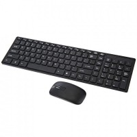 Клавиатура и мышь K-06 беспроводные (Black)