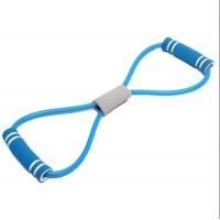Эластичная лента эспандер для занятия спортом (Blue)