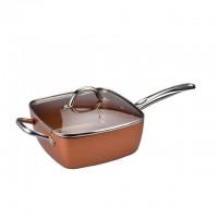 Сковорода Copper cook deep square pan универсальная (Сooper)
