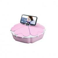 Органайзер для сладостей Peach Heart Shape 5 отсеков (Pink)