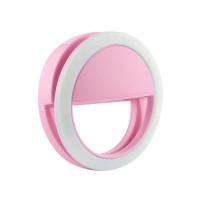 Кольцо для селфи с подсветкой selfie light (Pink)