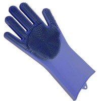 Перчатка для мойки посуды Gloves for washing dishes (Blue)