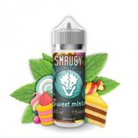 Жидкость для электронных сигарет SMAUGY Sweet Mints 0 мг 120 мл (Жвачка с мятным леденцом)