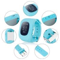 Умные часы Smart Watch Baby Q50 LBS + GPS (Blue)