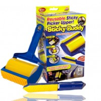 Валик для уборки липкий Sticky Buddy (Yellow Blue)