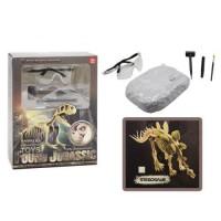 """Детский игровой набор для проведения раскопок """"Найди динозавра: Стегозавр"""""""