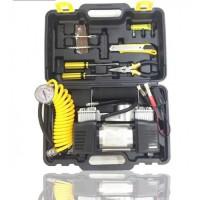 Автомобильный компрессор для шин BLACK BOX DOUBLE BAR KIT TOOLBOX с набором инструментов