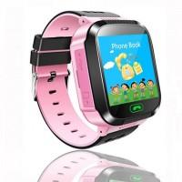 Умные часы Smart Watch Baby Q02 LBS + GPS (Pink)