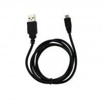 Kабель для зарядки USB - microUSB 45 см (Black)