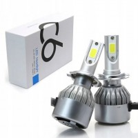 Лампа автомобильная LED C6 H7 (Silver)