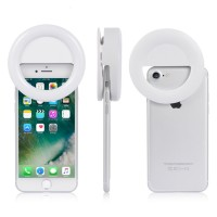 Кольцо для селфи с подсветкой selfie light (White)