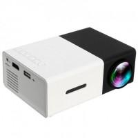 Проектор с динамиком Led Projector YG300 (Black-White)