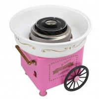Аппарат для приготовления сахарной ваты Candy Maker w-83 большой (Pink)