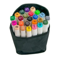 Набор маркеров для скетчинга 24 шт (White)