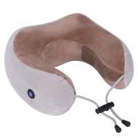 Массажная подушка U-Shaped Massage Pillow (Silver Brown)
