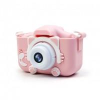 Фотоаппарат детский котик Kidds GM-20 (Pink)